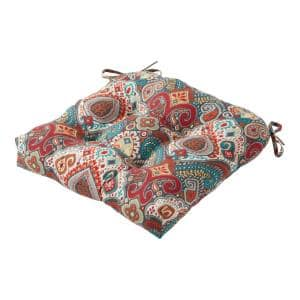 20 in. Asbury Park Square Tufted Outdoor Seat Cushion