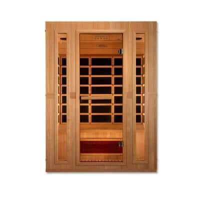 Infracolor 3-Person Far Infrared Sauna with 5-Dual Tech Heaters