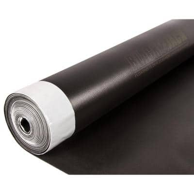 Black Jack 100 sq. ft. 28 ft. x 43 in. x 2.5 mm Premium 2-in-1 Underlayment for Laminate and Engineered Wood Floors