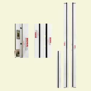 BOSS 1-1/4 in. x 4-9/16 in. x 83 in. PVC Jamb Moulding Left-Hand Inswing Break-In Resistant Exterior Door Frame Kit