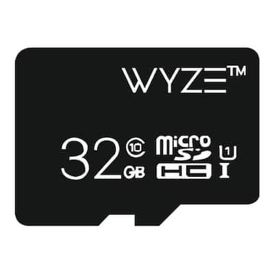 Expandable Storage 32GB MicroSDHC Card Class 10, Black