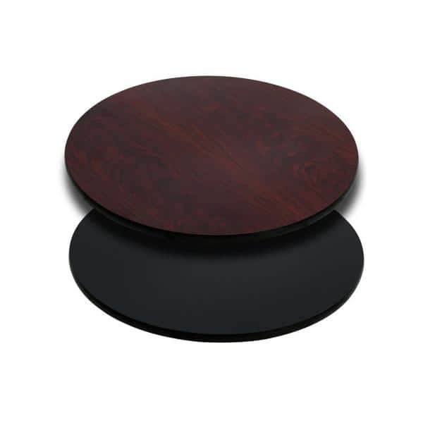Flash Furniture 24 In Round Table Top, Round Table Tops Home Depot