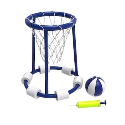 Basketball Hoop Pool Toy Set