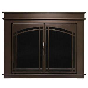 Fenwick Medium Glass Fireplace Doors