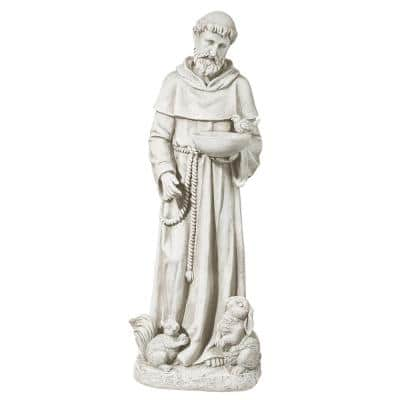 28 in. H Nature's Nurturer St. Francis Medium Sculpture