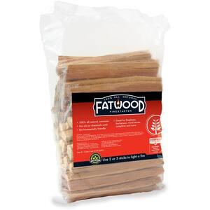 Fatwood All Natural Environmentally Friendly Firestarter 4 lbs. Bag
