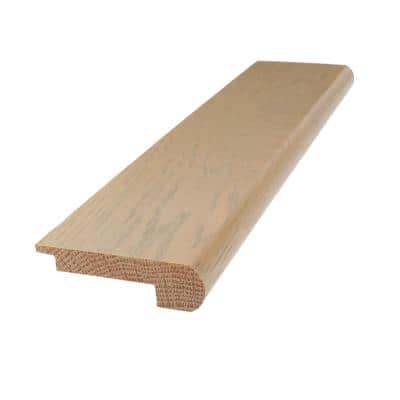Solid Hardwood Trio 0.75 in. T x 2.78 in. W x 78 in. L Stair Nose