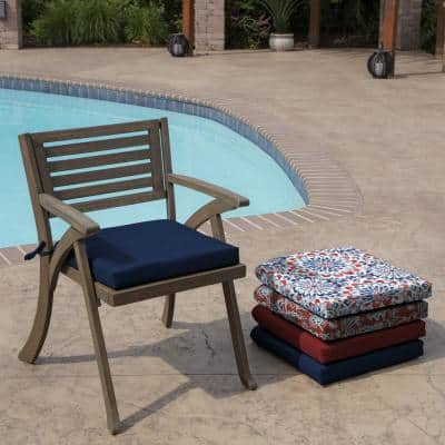 Sapphire Leala Texture Rectangle Outdoor Seat Pad