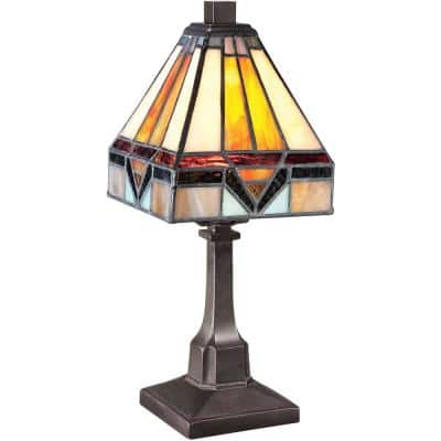 Holmes 12 in. Vintage Bronze Table Lamp