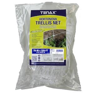 79 in. x 328 ft. White Hortonova Plant Trellis Net