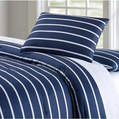 Maddow Stripe Comforter Set