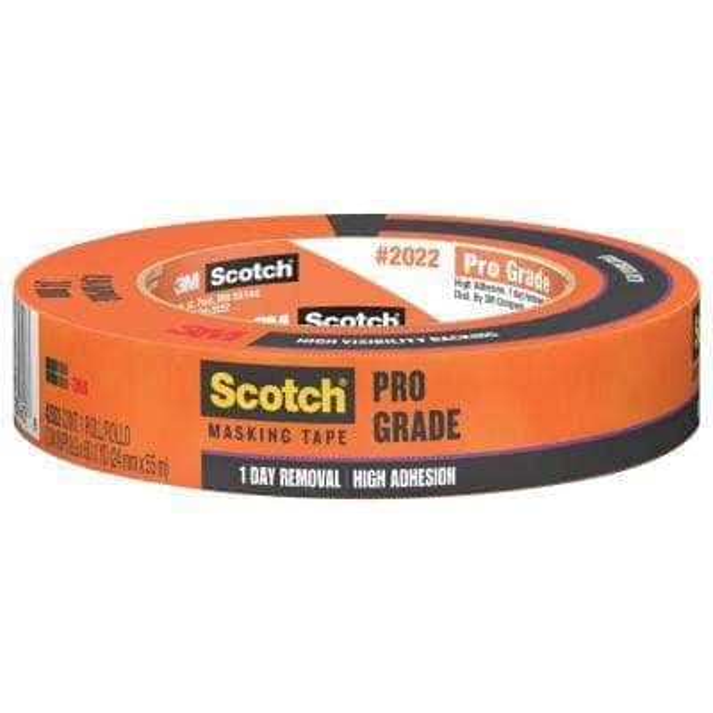 Scotch 0.94 in. x 60.1 yds. Pro Grade Masking Tape (Case of 36)