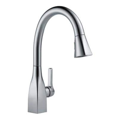 Mateo Single-Handle Pull-Down Sprayer Kitchen Faucet with ShieldSpray Technology in Arctic Stainless