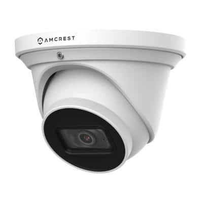 UltraHD 4K Wired Dome Outdoor Analog Security Camera,164ft Night Vision, IP67 Weatherproof,110° Wide Angle, Built-in Mic
