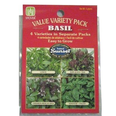 Basil Seed Variety Pack