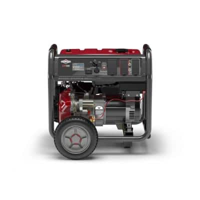 Elite 8,000-Watt Key Electric Start Gasoline Powered Portable Generator with Briggs & Stratton OHV Engine