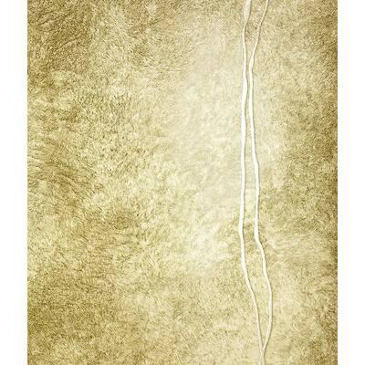 Matera Gold Fur Line Gold Wallpaper Sample