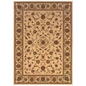 Kurdamir Rockland Ivory 5 ft. 3 in. x 7 ft. 7 in. Area Rug