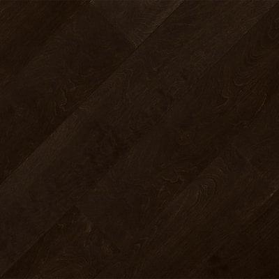 Espresso Birch 3/8 in. T x 6-1/2 in. W x Varying Length Water Resistant Click Lock Hardwood Flooring (25.73 sq. ft.)