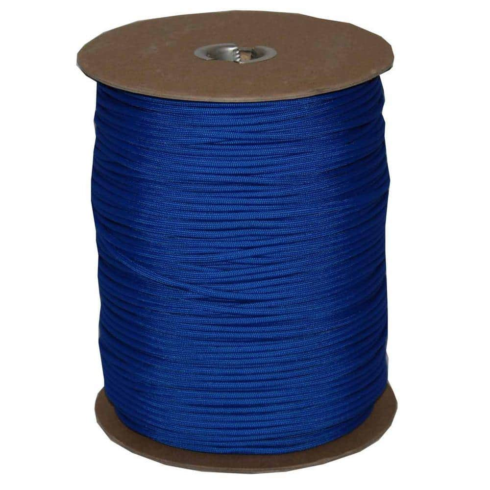 100 Meters per Spool Blue Bird Maine Thread 5mm Turquoise Polished/Braided Cotton Cord Includes 1 Spool.