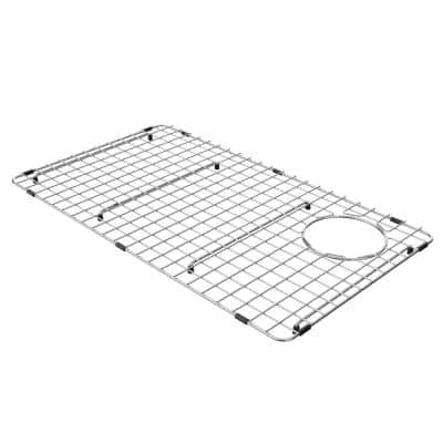 Bellucci Stainless Steel Kitchen Sink Bottom Grid with Soft Rubber Bumpers for KGF1-30 30 in. Kitchen Sink