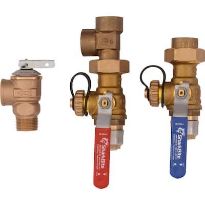 3/4 in. Tankless Water Heater Valves Installation Kit