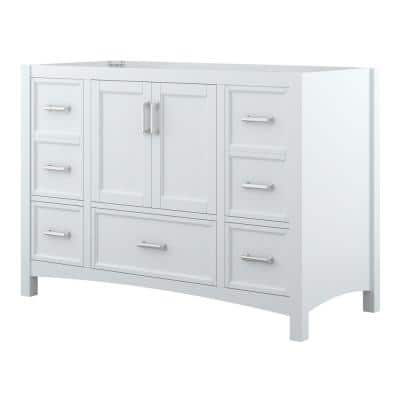 Everleigh 48 in. W x 22 in. D x 34 in. H Bath Vanity Cabinet Only in White