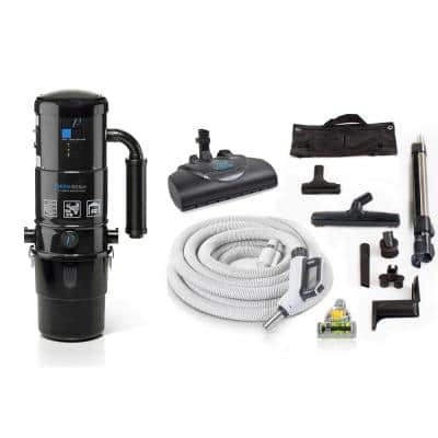 CV12000 Central Vacuum System with Power Hose kit