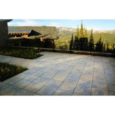 Patio-on-a-Pallet 18 in. x 18 in. Concrete Tan Variegated Traditional Yorkstone Paver (Pallet of 32-Pieces)