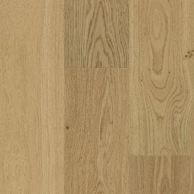 Sand Natural Oak 6.5 mm T x 6.5 in. W x Varying L. Waterproof Engineered Click Hardwood Flooring (21.67 sq. ft/case)