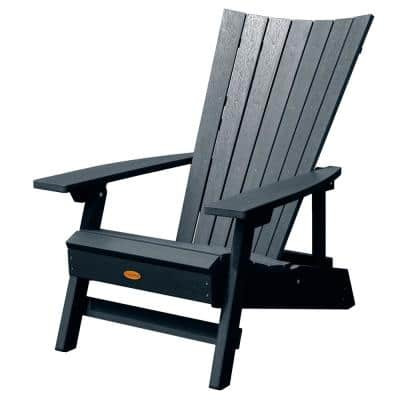 Manhattan Beach Federal Blue Folding and Reclining Recycled Plastic Adirondack Chair