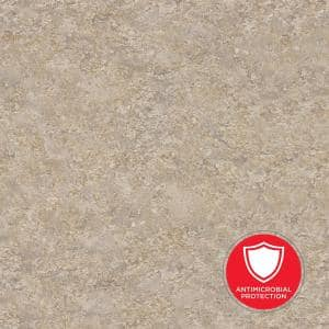 5 ft. x 12 ft. Laminate Sheet in Silver Travertine with HD Glaze Finish