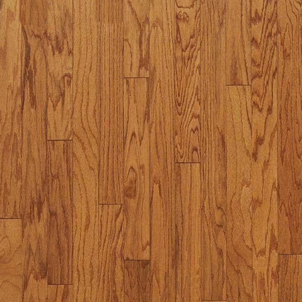 Bruce Butterscotch Red Oak 3 4 In Thick X 3 4 In Wide X 78 In Length Quarter Round Molding T74131640 The Home Depot