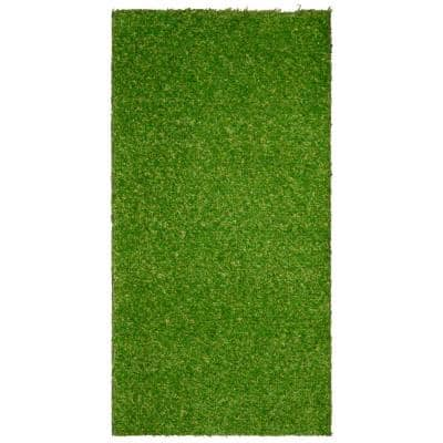 24 in. x 48 in. Indoor/Outdoor Greentic Artificial Grass Turf Puppy Pee Pad