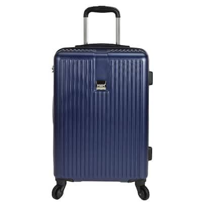 Sparta 21 in. Hardside Spinner Suitcase, Navy