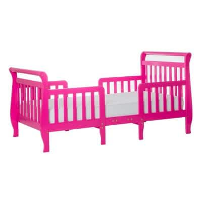 Emma Fuschia Pink Toddler Sleigh Bed
