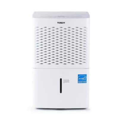 50-Pint Capacity 4,500 sq. ft. Energy Star Dehumidifier for Home, Basement, Bedroom or Bathroom