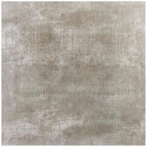 Essential Cement Ash 24 in. x 24 in. Matte Porcelain Floor and Wall Tile (15.49 Sq. Ft. / Case)