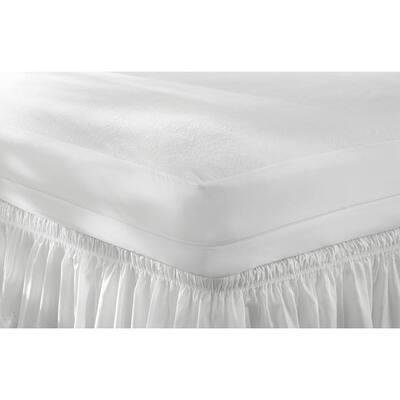Bed Bug, Allergy and Waterproof Queen Mattress Zip Cover
