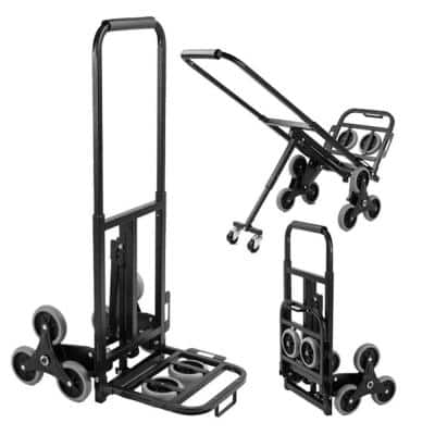 330 lbs. Capacity Stair Climbing Dolly Hand Truck
