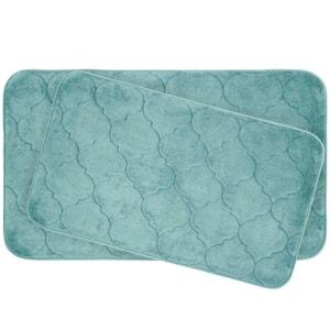 Faymore Aqua Memory Foam 2-Piece Bath Mat Set