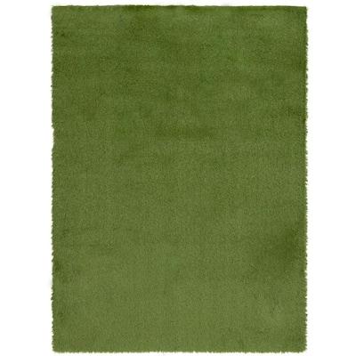 5 ft. x 7.5 ft. Light Green Artificial Grass