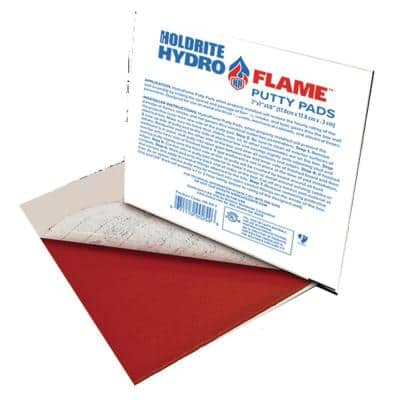 HydroFlame Pro 7 in. x 7 in. Intumescent Putty Pad