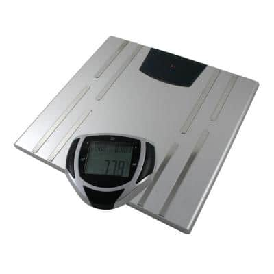 Digital Body Composition Bathroom Scale in Gray