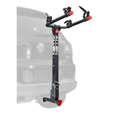 70 lbs. Capacity Locking 2-Bike Vehicle 2 in. and 1.25 in. Hitch Bike Rack