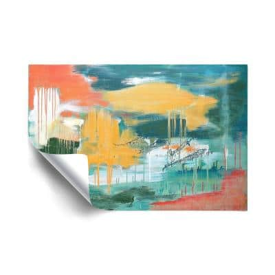 Unveiling the Sky Abstract Removable Wall Mural