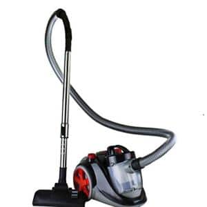 Featherlight Cyclonic Bagless Canister Vacuum Cleaner comes with Telescopic Wand and Retractable Cord