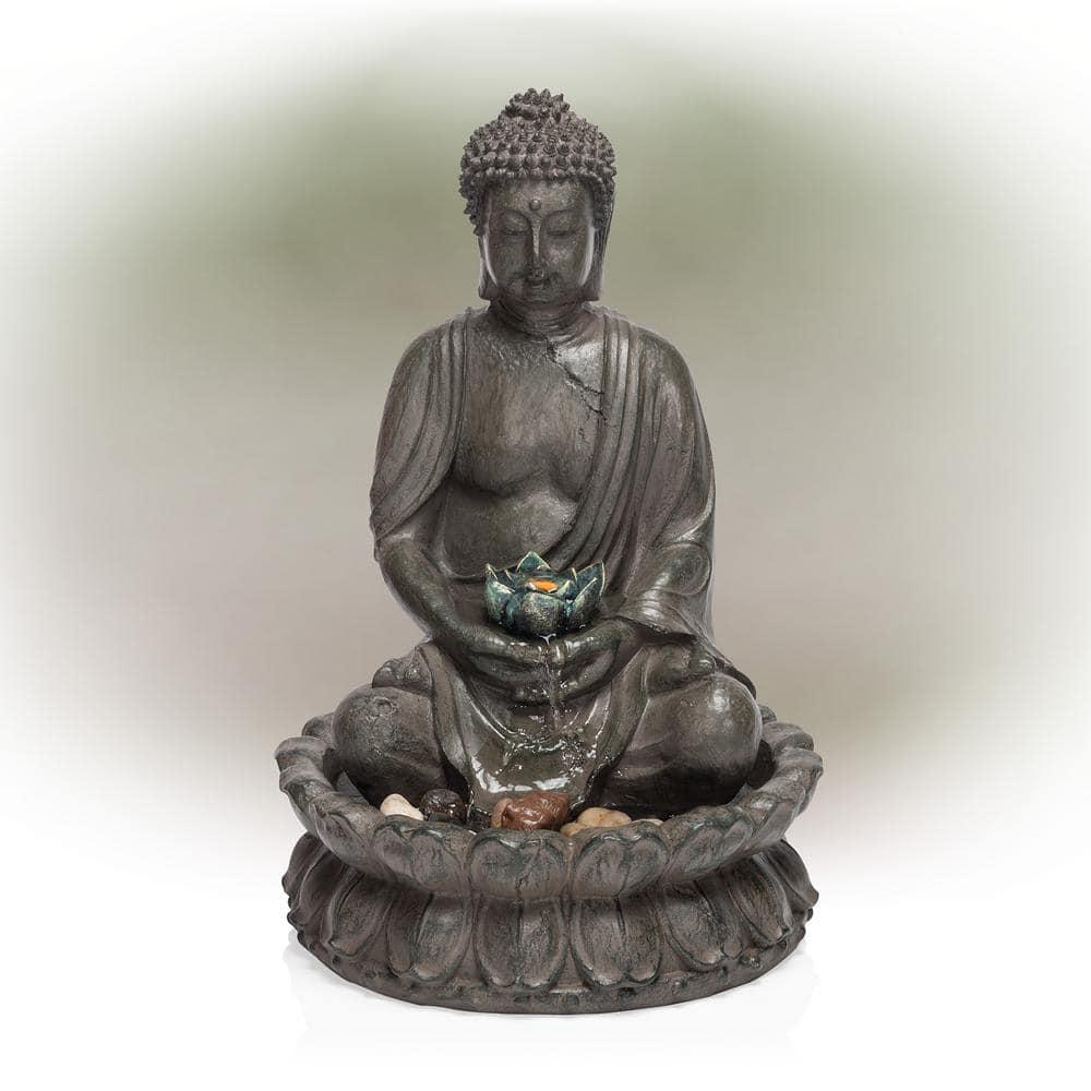 Tranquil LED Buddha Fountain w