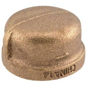 1 in. FIP Red Brass Cap Fitting