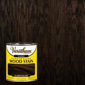 1 qt. Black Classic Wood Interior Stain (2-Pack)